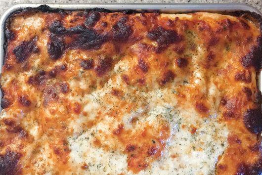 Crispy Sheet Pan Pizza