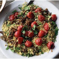 Ottolenghi's Couscous, Cherry Tomato & Herb Salad