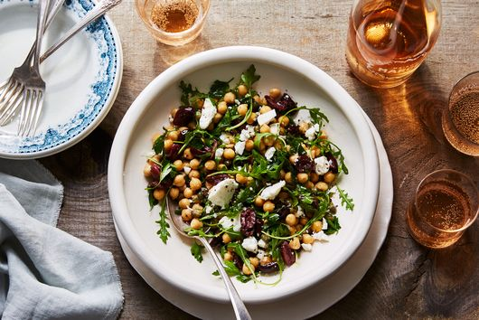No-Chop Chickpea Salad