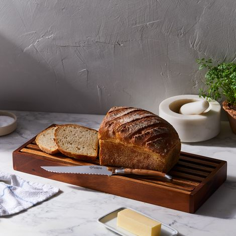 Laguiole en Aubrac Bread Knife & Board