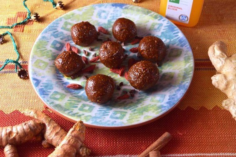 Turmeric Sama Balls Recipe