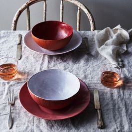 Featherweight Terracotta Dinnerware, by SIN
