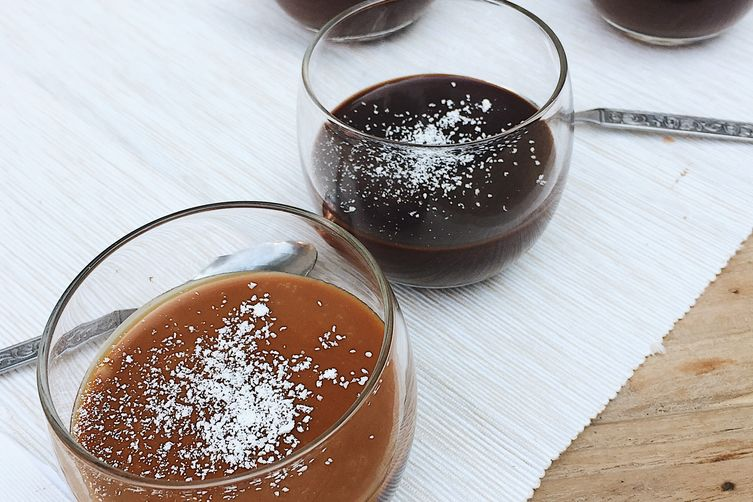 Chocolate Whisky Caramel Pots de Creme