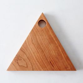 Triangular Wooden Serving Boards
