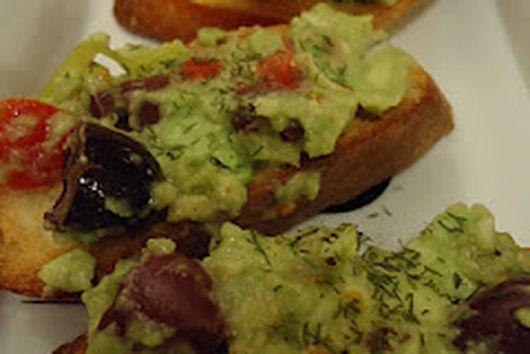 Mediterranean Guacamole