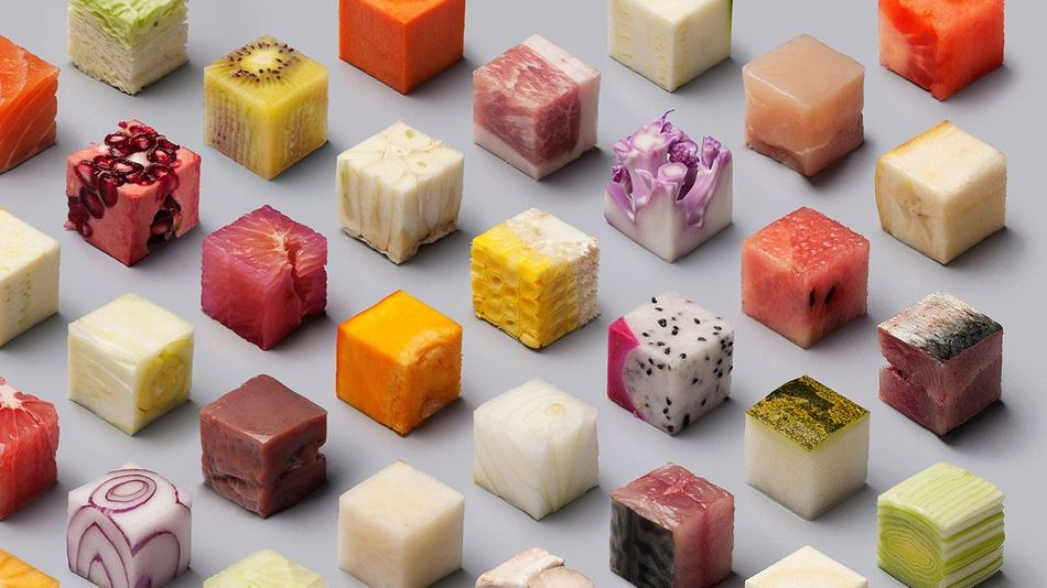 Lernert & Sander Food Cut Into Tiny Cubes