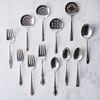 Vintage Fork, Spoon & Tomato Serving Set