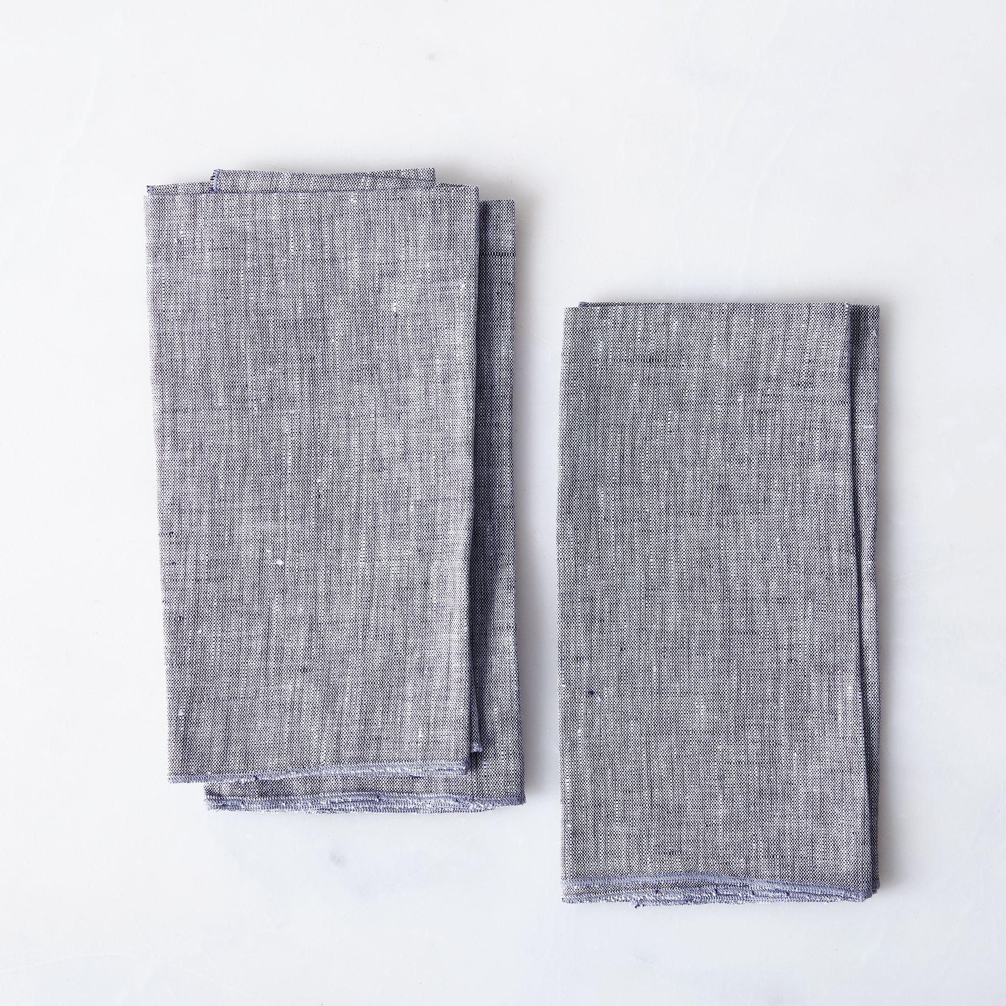 C315b1f5 56fd 4e79 aedd 28103dd8fb33  2016 1028 objective linen chambray napkins set of 4 charcoal silo rocky luten 052