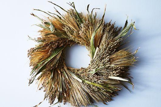Natural Grasses Wreath