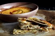 Chewy Layered Roti and Kickass Dip