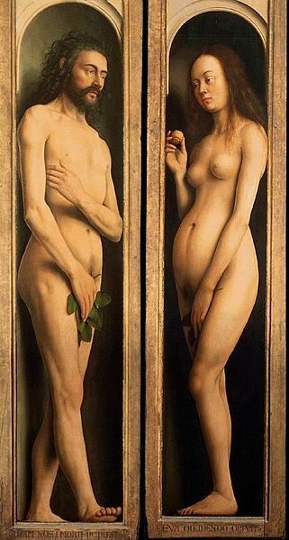 Adam and Eve Ghent Alterpiece