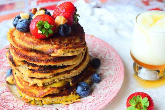 Almond & Banana Pancakes