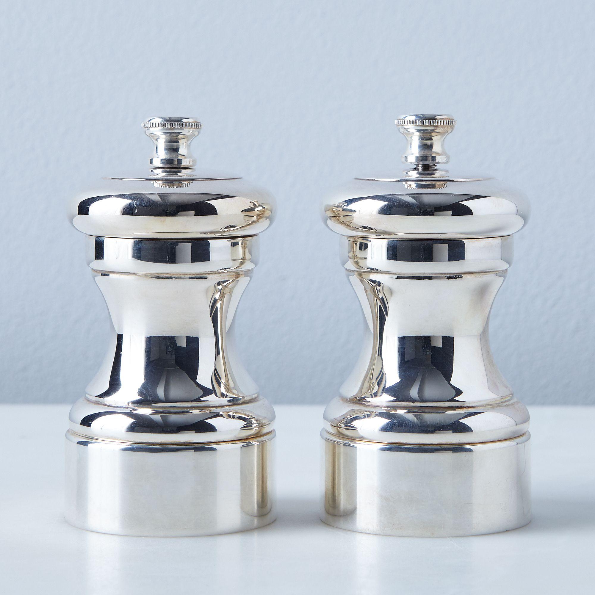 Peugeot Silver Plated Pepper Salt Mills On Food52