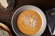 Red Pepper and Cauliflower Chowder