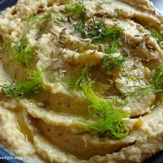 Roasted Fennel Hummus