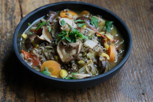 Misc. Mushroom and Wild rice Soup