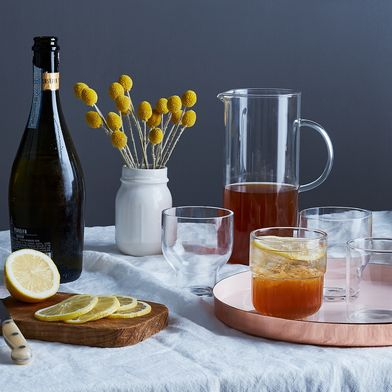 A Fresh & Floral Big-Batch Cocktail Fit for a Crowd