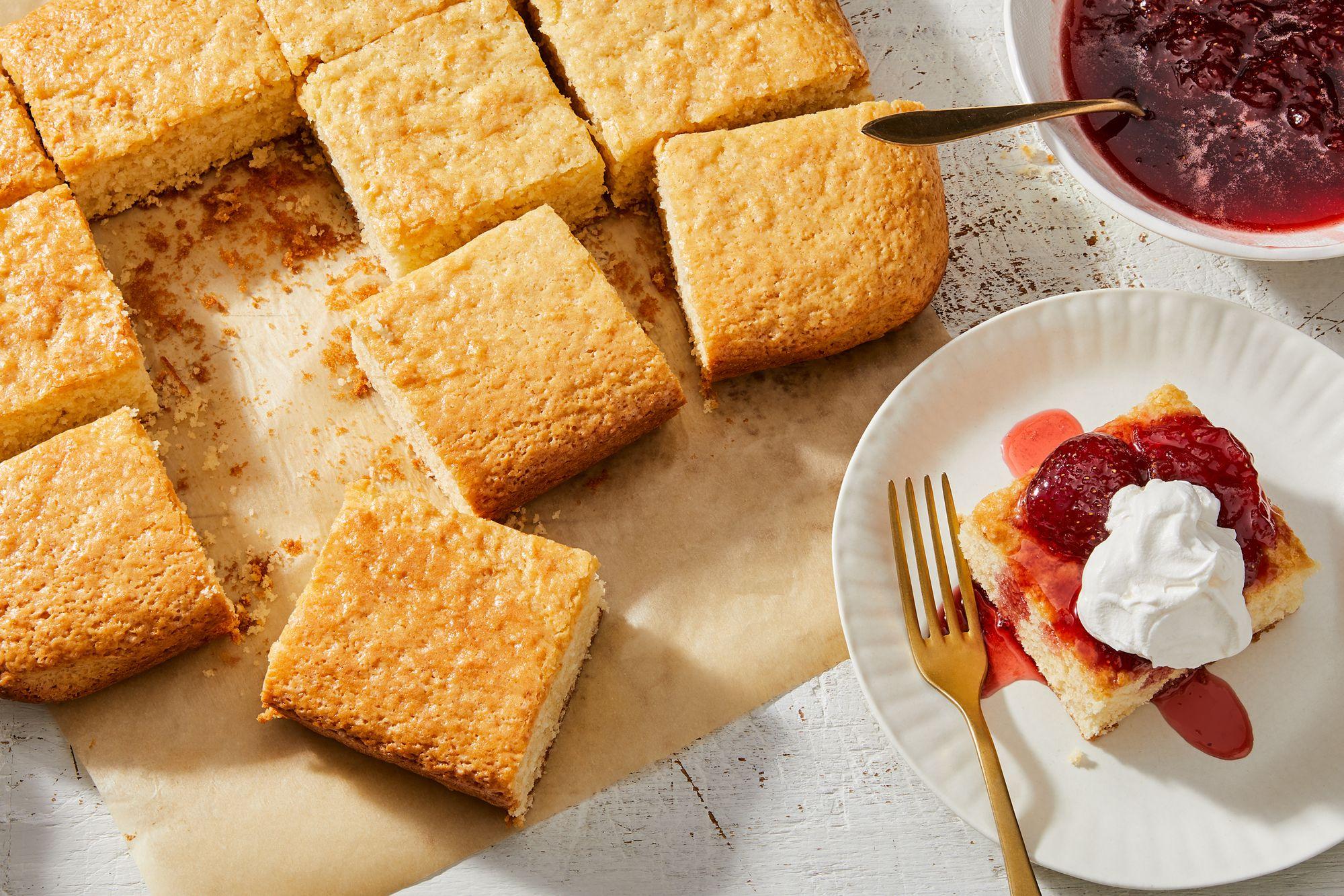 The Simplest Stir-and-Bake Vanilla Cake