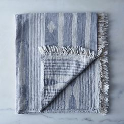 Arrow Turkish Cotton Fringe Towel