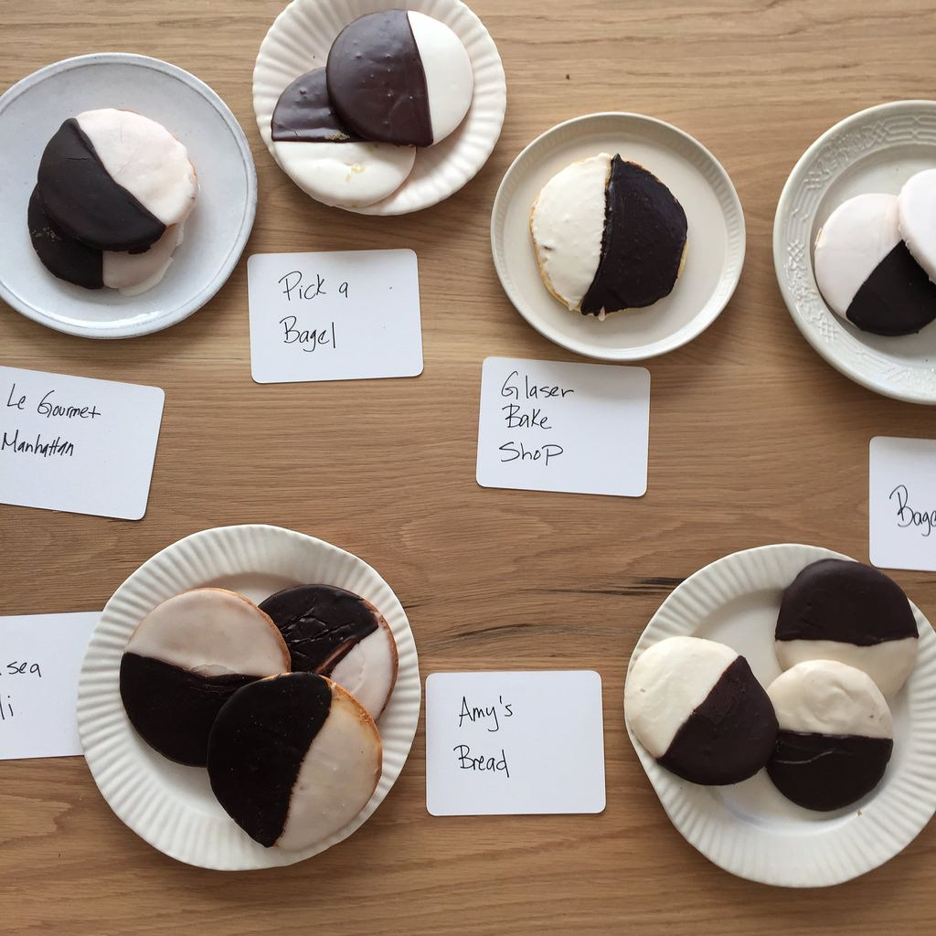 In Search of the Best Black-and-White Cookie