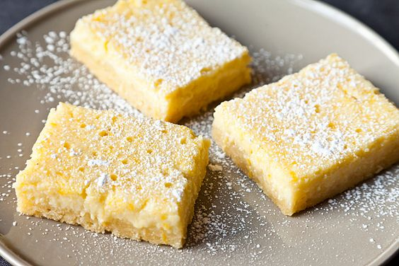 Lemon Ricotta Bars