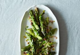 Absurdly Addictive Asparagus & a Special Guest with Vintage A&M