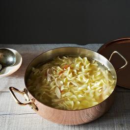 Copper Stew Pan