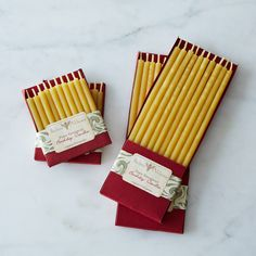 "3"" and 7"" Natural Beeswax Birthday Candles, 40 Count"