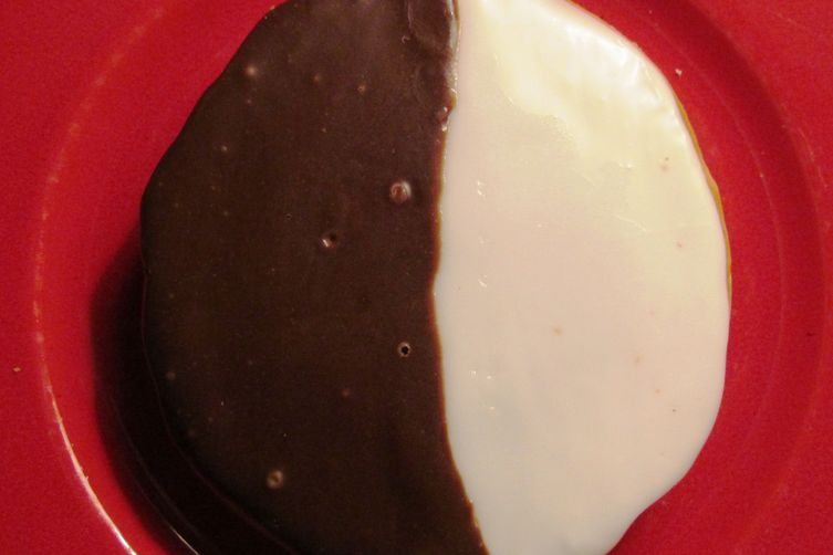 Santa's Favorite Black and White Cookies