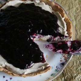 Coffee Blueberry Pie