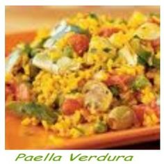 Paella Verdura