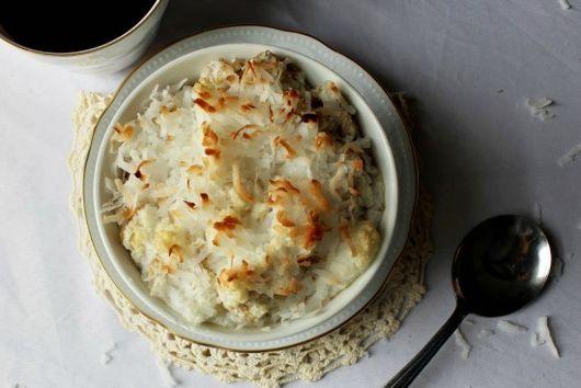 Coconut Macaroon Baked Oatmeal