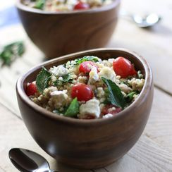 Mediterranean Bulgur Bowl