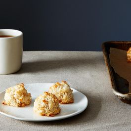 Cracklin' Coconut Cherry Macaroons Recipe on Food52