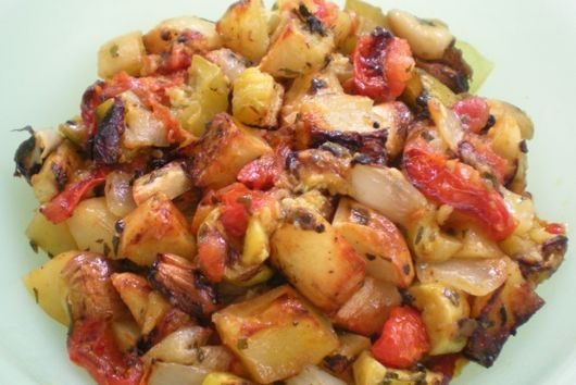 Briami, Greek roasted vegetables