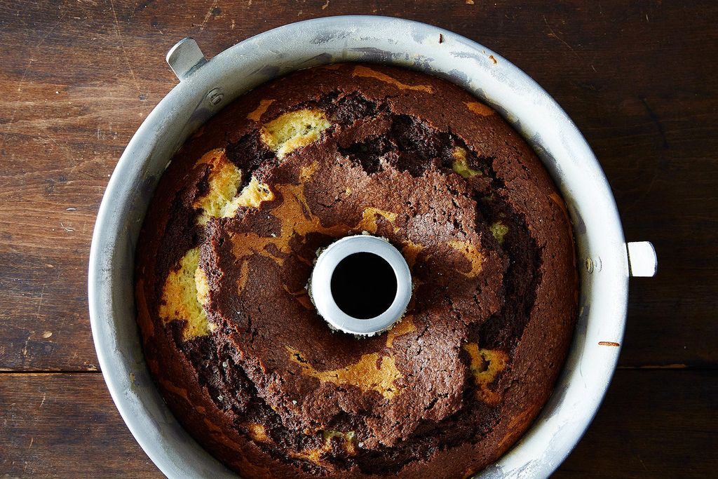 Moist Marble Cake Recipe With Oil