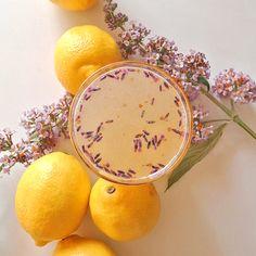 Lavender Lemonade + Gin