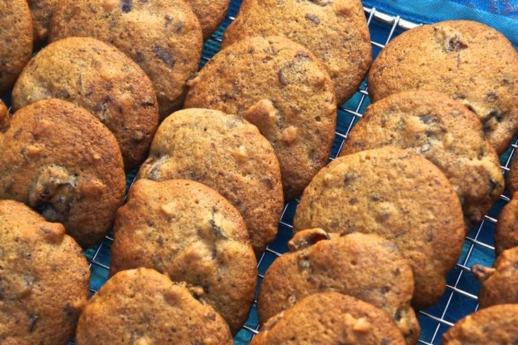 Chocolate Prune Cardamom Cookies