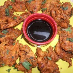 Simple Vegtable Bhajias