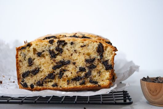 Sour Cream Chocolate Chunk Loaf