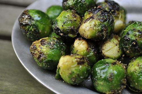 grilled brussels sprouts from Food52