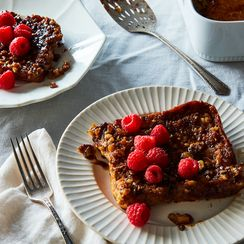 Poteca-Inspired Baked French Toast