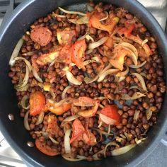 Kala Chana (Chickpea) Stir-Fry