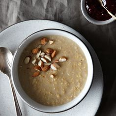 Creamy Coconut Milk Millet Pudding