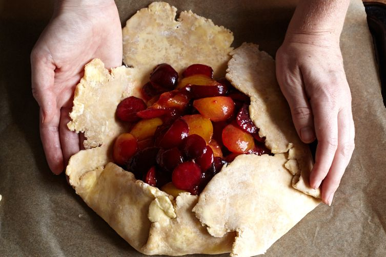 Plum Galette with a Whole-Wheat Crust