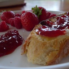 Strawberry Preserves: for when you feel like having magic (or a delicious memory) for breakfast