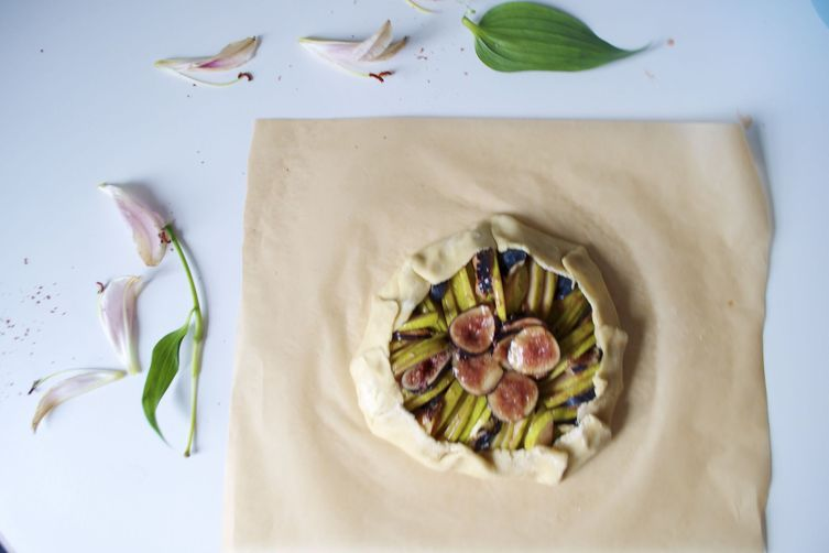 Fig and Pear Tart