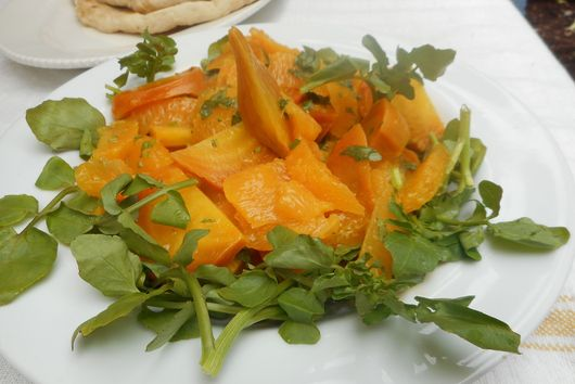 Golden Beet & Orange Salad