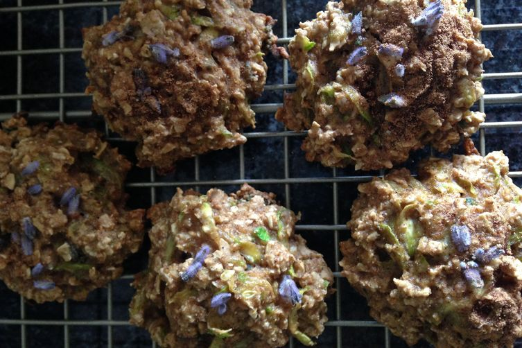 Lavender Zucchini Cookies