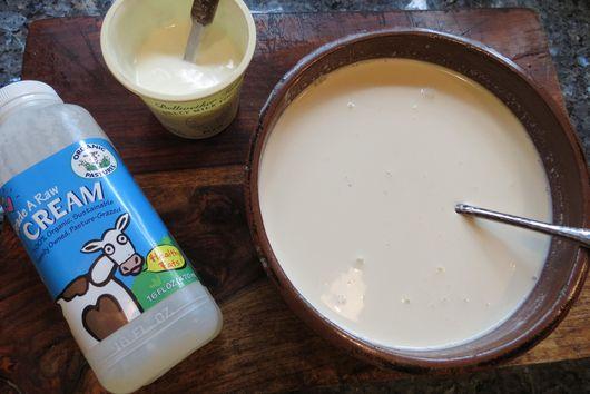 sheep & cow's milk cultured butter & buttermilk